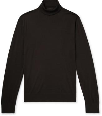 Prada Virgin Wool Rollneck Sweater