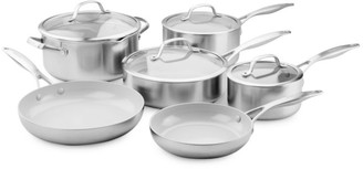 Green Pan Venice Pro Ceramic Non-Stick 10-Piece Cookware Set