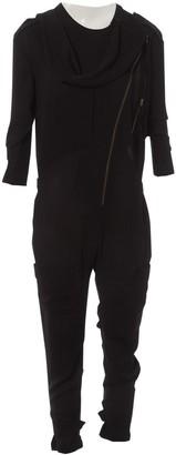 Acne Studios Black Polyester Jumpsuits
