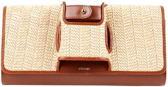 Perrin Paris Camel Leather Clutch bags