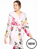 Ted Baker Citrus Bloom Robe - Nude