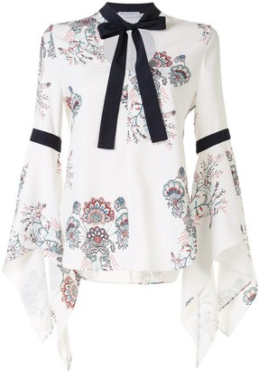 J.W.Anderson Fluted Sleeve Blouse