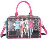 Nicole Lee Women's Girls Want To Have Fun Print Boston Bag