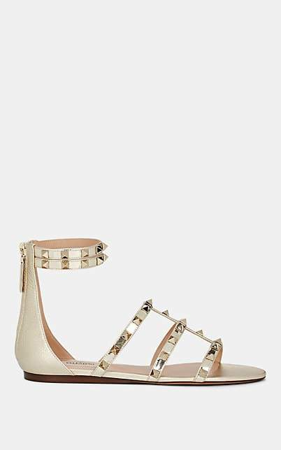 f57667b82df9d Valentino Gold Women's Shoes - ShopStyle