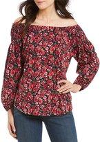 Lauren Ralph Lauren Petite Jersey Off-the-Shoulder Top
