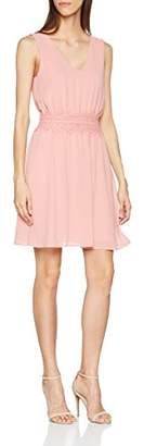 Vila CLOTHES Women's Vimilina V-Neck Dress/dc/2 Party Dress,(Manufacturer Size: 40)