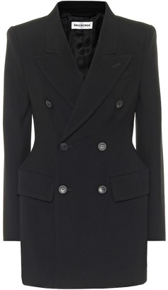Balenciaga Hourglass virgin-wool blazer