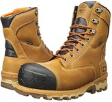 Timberland 8 Boondock Composite Safety Toe Waterproof Insulated (Wheat Distressed) Men's Shoes