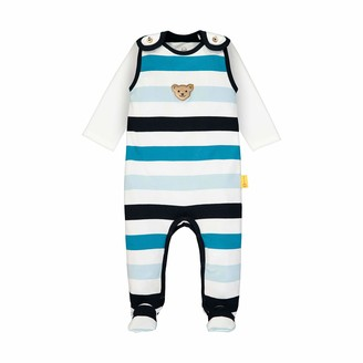 Steiff Baby Boys' Set Strampler + T-Shirt Langarm Clothing