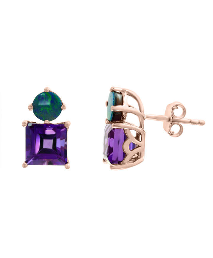 68b589ffa Effy Purple Earrings - ShopStyle