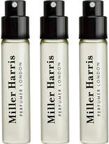 Miller Harris Feuilles de Tabac set of three travel refills 9ml