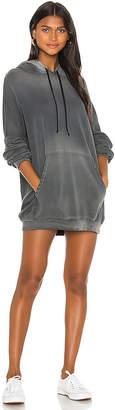 Michael Lauren Brayden Hoodie Mini Dress