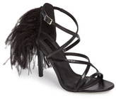 Topshop Roxana Feather Back Sandal (Women)