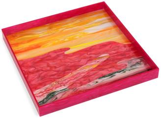 Edie Parker Watercolor Acrylic Tray
