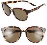 Smith Optics Women's 'Bridgetown' 54Mm Aviator Sunglasses - Black/ Brown Polar