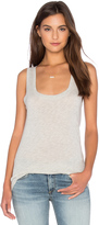 Velvet by Graham & Spencer Mossy Gauzy Whisper Scoop Neck Tank