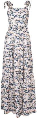 Rebecca Vallance Printed Maxi Dress
