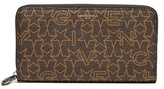 Givenchy Star-print Zip-around Leather Wallet