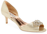Badgley Mischka Petrina Peep Toe d&Orsay Pump