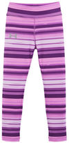 Under Armour Girls 2-6x Blurred Striped Regular-fit Leggings