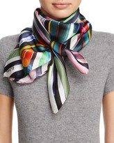 Echo Geo Silk Square Scarf