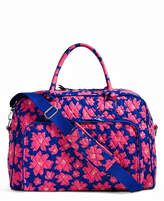 Vera Bradley Art Poppies Weekender Bag