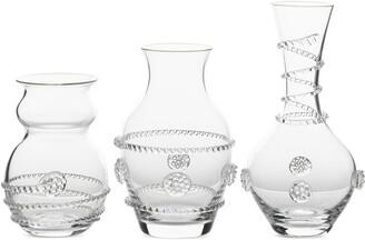 Juliska Set of 3 Bud Vases