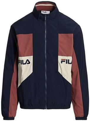 Fila Colorblock Logo Track Jacket