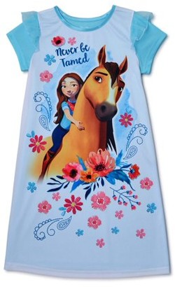 Spirit Girls Super Soft Short Sleeve Pajama Nightgown, Sizes 4-10