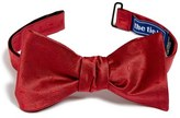 The Tie Bar Men's Dobby Silk Bow Tie