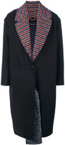 Cédric Charlier contrast lining coat