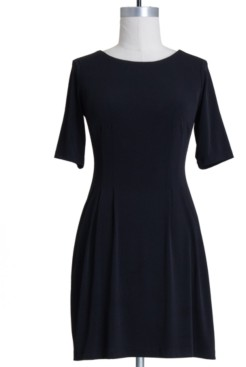 Connected Petite Fit & Flare Dress