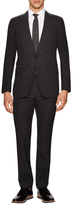 Tom Ford Wool Checkered Notch Lapel Suit