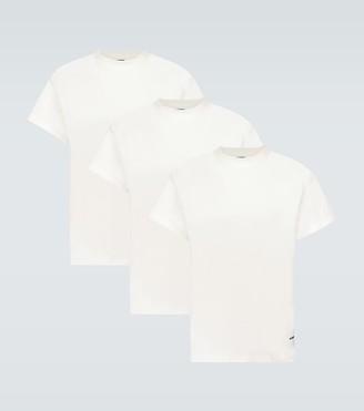 Jil Sander Organic cotton three-pack T-shirts