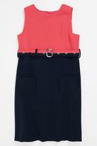 Milly Minis Cece Combo Sleeveless Dress (Big Girls)