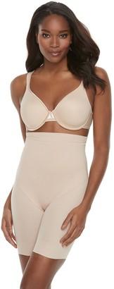 Naomi & Nicole Women's Adjustable Mesh High-Waist Thigh Slimmer 7239