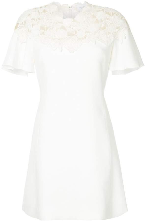 Giambattista Valli macrame mini dress