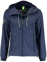 Superdry New Dual Zip Summer Jacket Indigo Marl