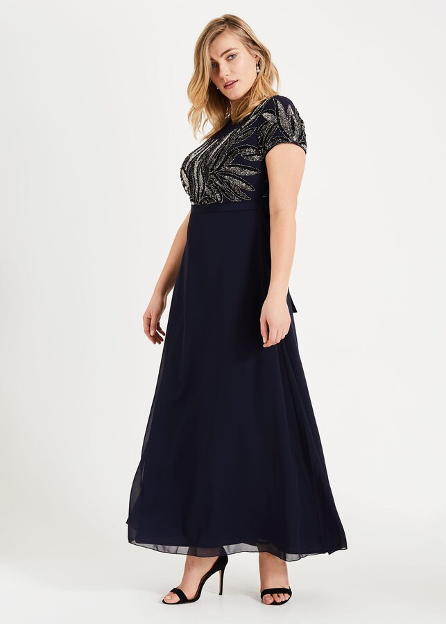 Phase Eight Flora Beaded Maxi Dress