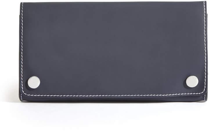 Jigsaw Harrison Rubber Leather Clutch