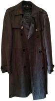 Gucci Grey Fur Coat