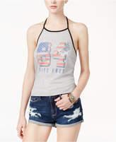 American Rag Juniors' Graphic Halter Top, Only at Macy's
