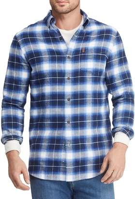 Chaps Big Tall Classic-Fit Plaid Shirt