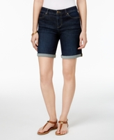 Style&Co. Style & Co Style & Co Petite Cuffed Denim Shorts, Created for Macy's