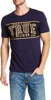 True Religion End Zone Crew Neck Graphic Tee