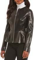 Antonio Melani Haynes Genuine Leather Jacket