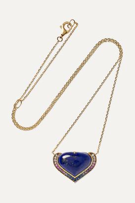 Noor Fares Vishudda 18-karat Gold Multi-stone Necklace