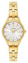 Pulsar Women's 'Dress Sport' Quartz Gold-Toned Dress Watch (Model: PM2224)