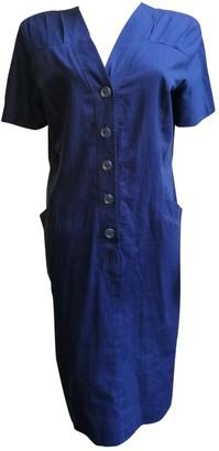 Pierre Cardin Navy Cotton Dresses