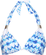 Heidi Klein Ventura tie-dye push-up bikini top